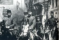 Abdülhamid'i tahttan indiren hareket ordusu subaylarının tamamı Mason idi.Bu subaylar arasında Mustafa Kemal'de var.