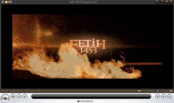 Fetih 1453 fragman