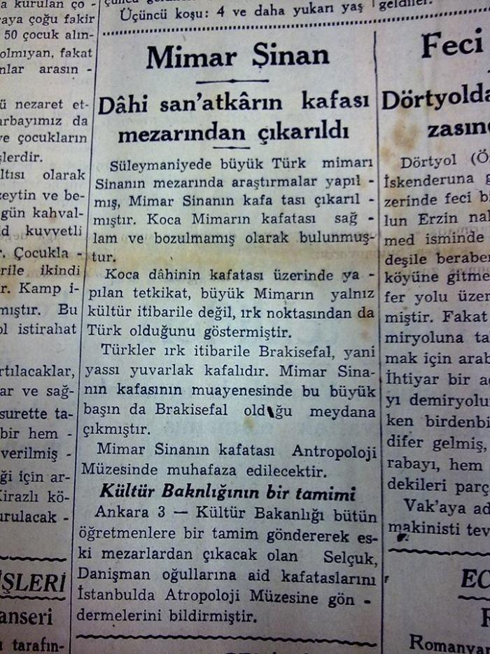 Cumhuriyet 1935 Mimar Sinan