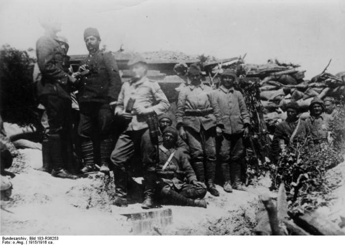 Türkei, Gallipoli, MG-Unterstand