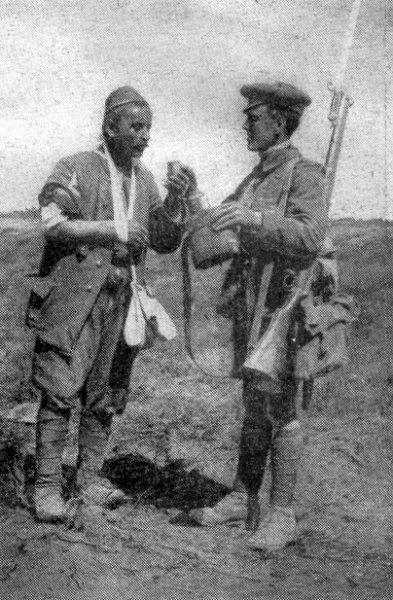 Türk ve Müttefik askeri