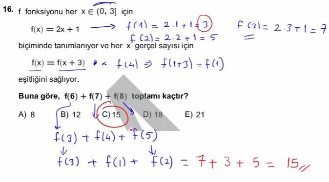 2016 LYSmat soru 16