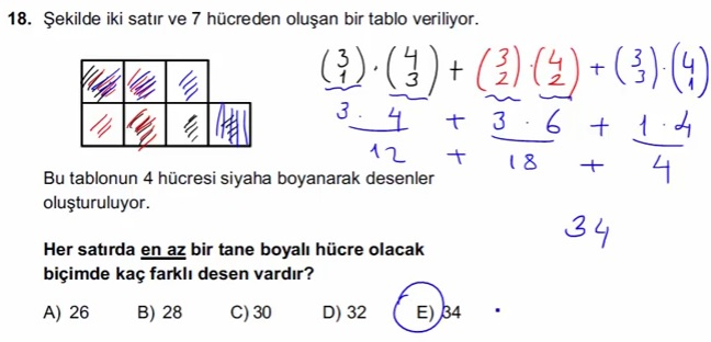 2016 LYSmat soru 18