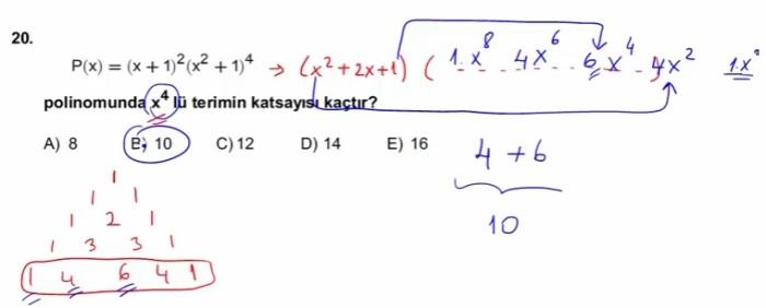 2016 LYSmat soru 20