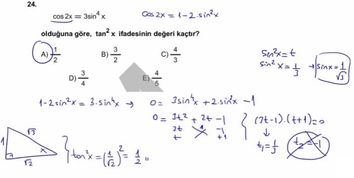 2016 LYSmat soru 24