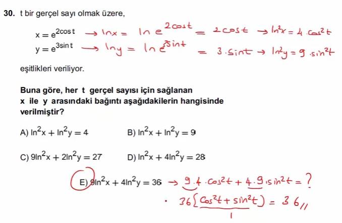 2016 LYSmat soru 30