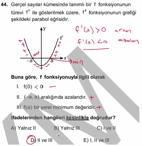 2016 LYSmat soru 44